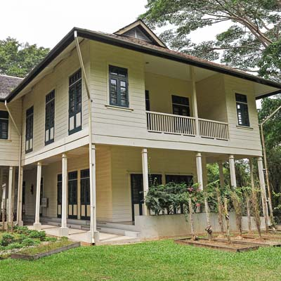 Agnes Keith House in Sandakan