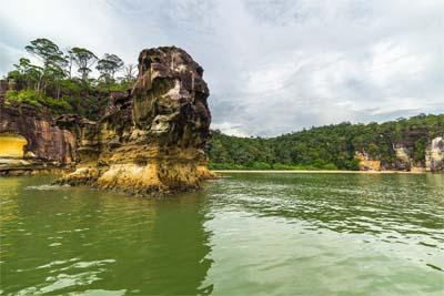 Fahrt zum Bako Nationalpark