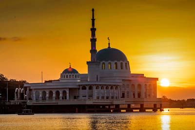 Kuching Floating Mosque
