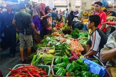 Markt in Sandakan