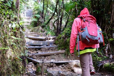 Aufstieg zum Mount Kinabalu