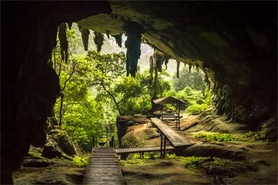 Niah Caves im Niah Nationalpark