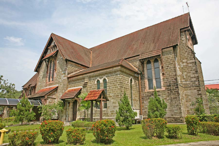 St. Michael's and All Angels Church in Sandakan