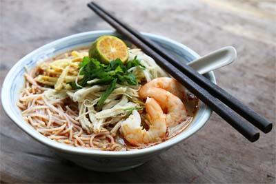 Spezialität nicht nur in Miri - Sarawak Laksa
