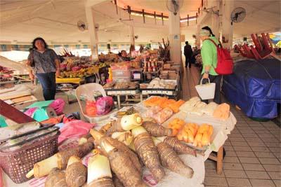 Tamu Khas Market in Miri
