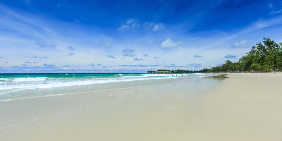 Borneo-Reise Strand