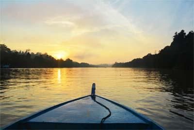 Borneo-Reise - Ursprünglicher Regenwald per Boot