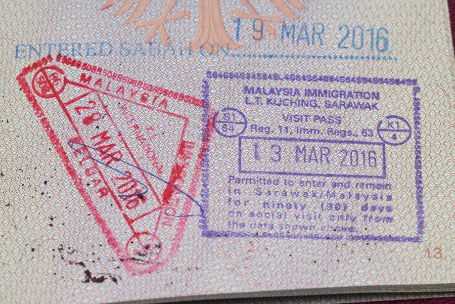 Einreise Malaysia