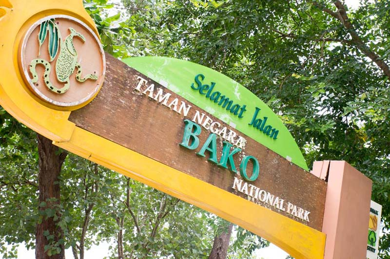Bako Nationalpark Eingang