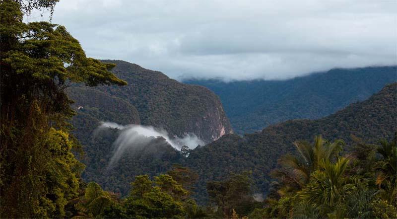 Ausblick vom Mount Mulu