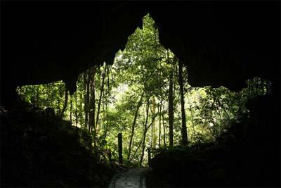 Eingang zur Langs Cave im Mulu Nationalpark