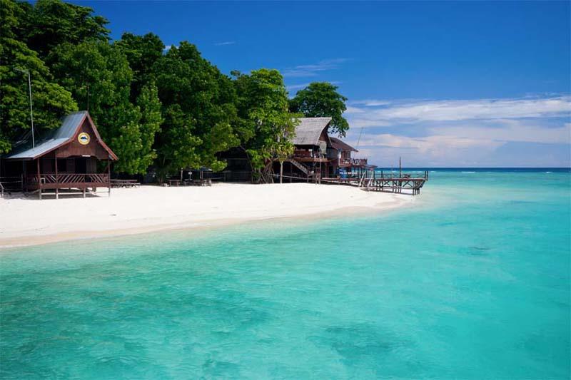 Strand von Sipadan