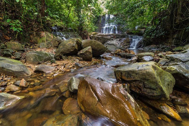 Kubah NP Waterfall Trail
